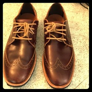 Men Timberland Brown Wingtips 9.5